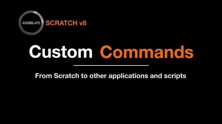 TUTORIAL SCRATCH 8 CUSTOM COMMAND ETALONNEUR NUMERIQUE