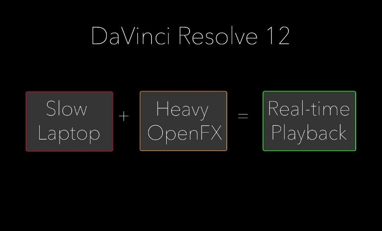 DAVINCI RESOLVE 12 TIME IN PIXELS RENDER CACHE NODE