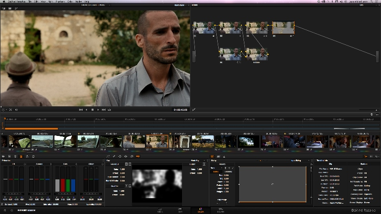 FILM FAR-WEST etalonnage sous DAVINCI RESOLVE 11