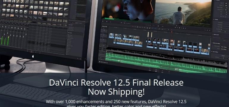 La version finale de DAVINCI RESOLVE 12 5 est arrivée !!! - www