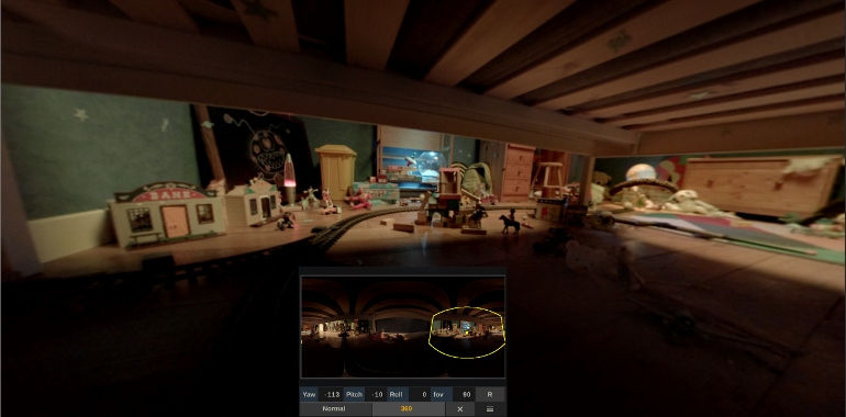 L'Outil PANZOOM pour voir son image à 360°