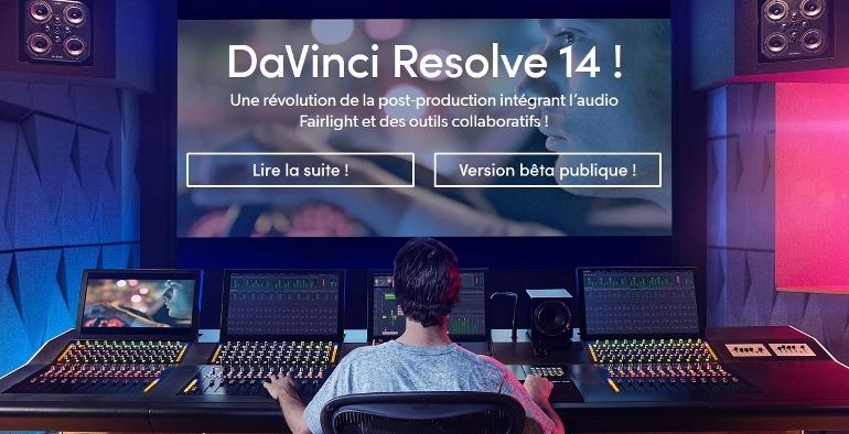 BETA DE DAVINCI RESOLVE 14 TELECHARGEMENT