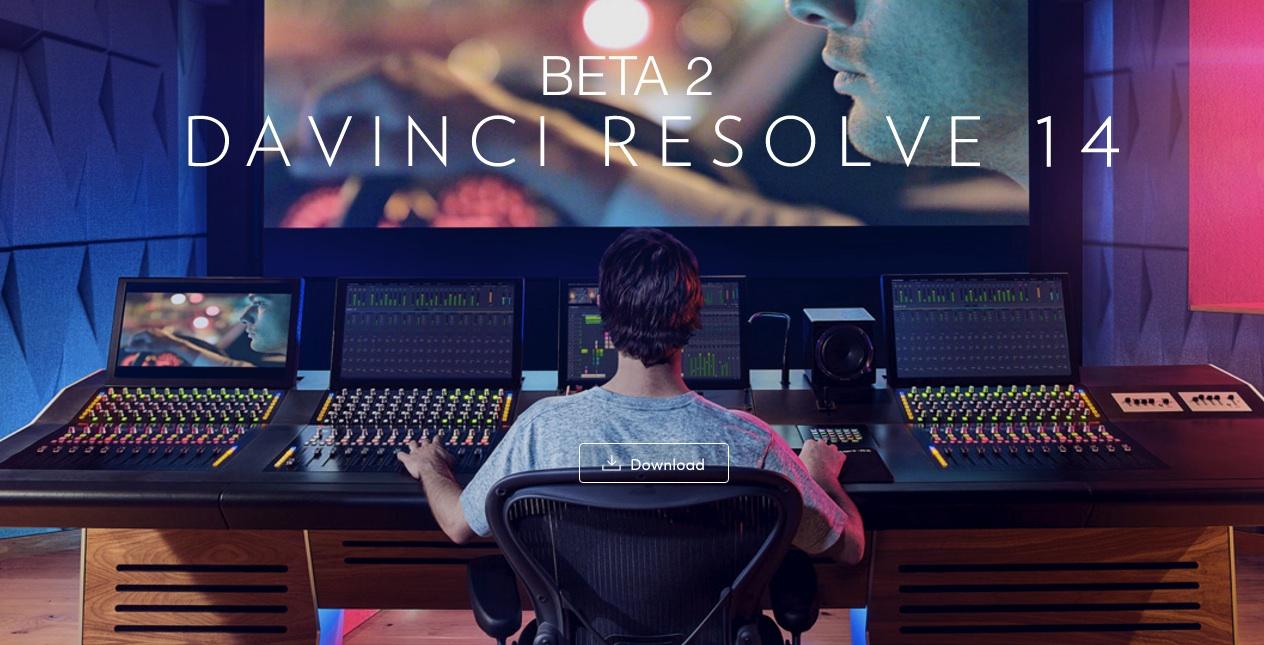 DAVINCI RESOLVE 14 BETA 2