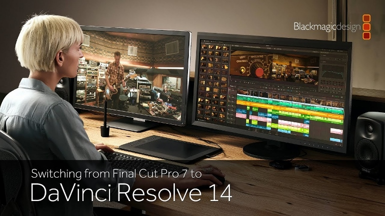 Faire la transition entre FINAL CUT PRO 7 et DAVINCI RESOLVE 14