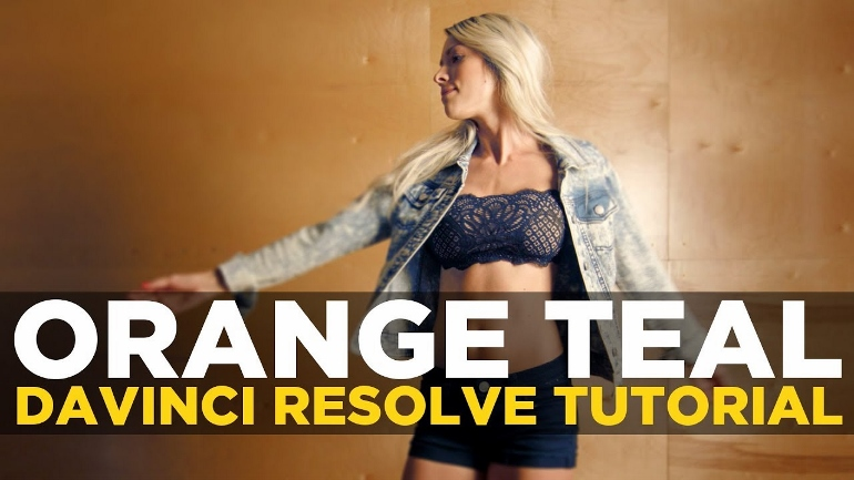 LOOK ORANGE TEAL DANS DAVINCI RESOLVE 14