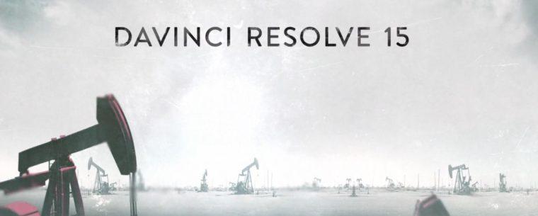 DAVINCI RESOLVE 15 1 2 est arrivée !!! - www