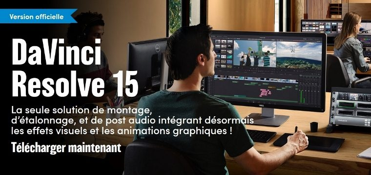 C'est officiel, DAVINCI RESOLVE 15 est disponible !!! - www